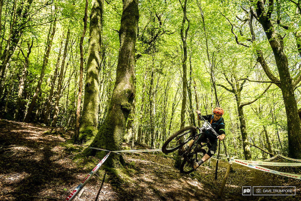 The woods here in Ireland are going to be a loamy rollercoaster ride full of dips, jumps and corners.