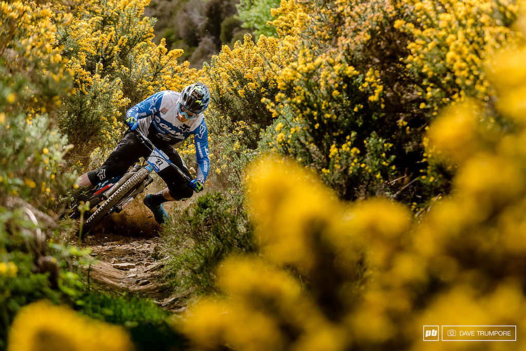 .002 seconds before Josh Carlson drifting wide into the sharp needles of the Gorse bush on Stage 1.