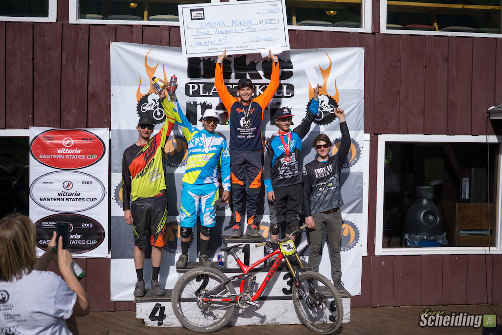 Video and Race Report: VITTORIA ESC Atlantic DH #2 at Plattekill Mountain