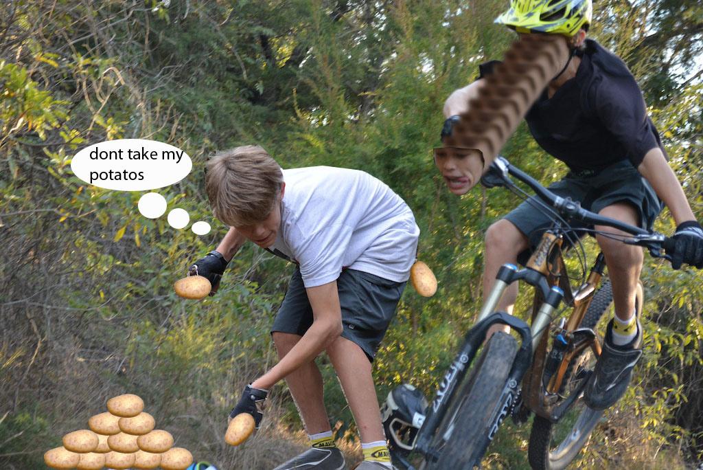 Finn likes potatoes