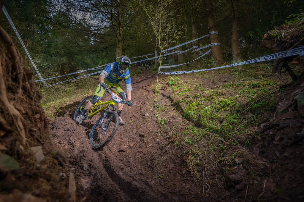 UK Gravity Enduro round 1 at Triscombe. Photo credits Doc Ward