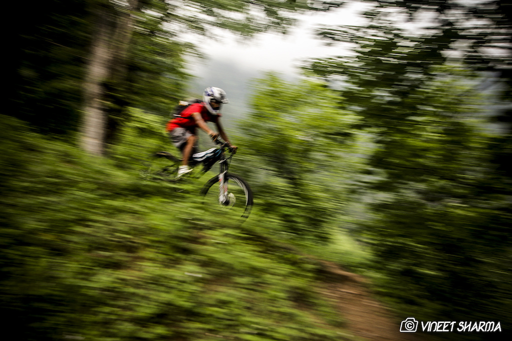 During 1st Himachal Downhill Mountain Bike Trophy 2014 - www.himalayanmtb.com