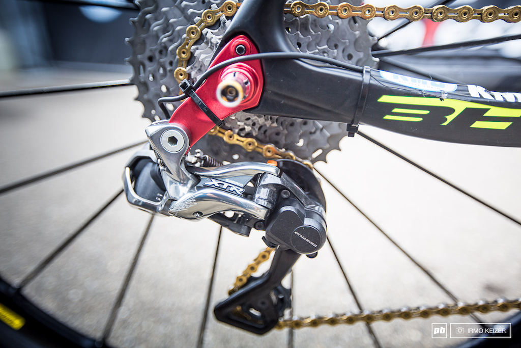 XTR Di2 direct-mounted. Cable routing has not been finalised yet.