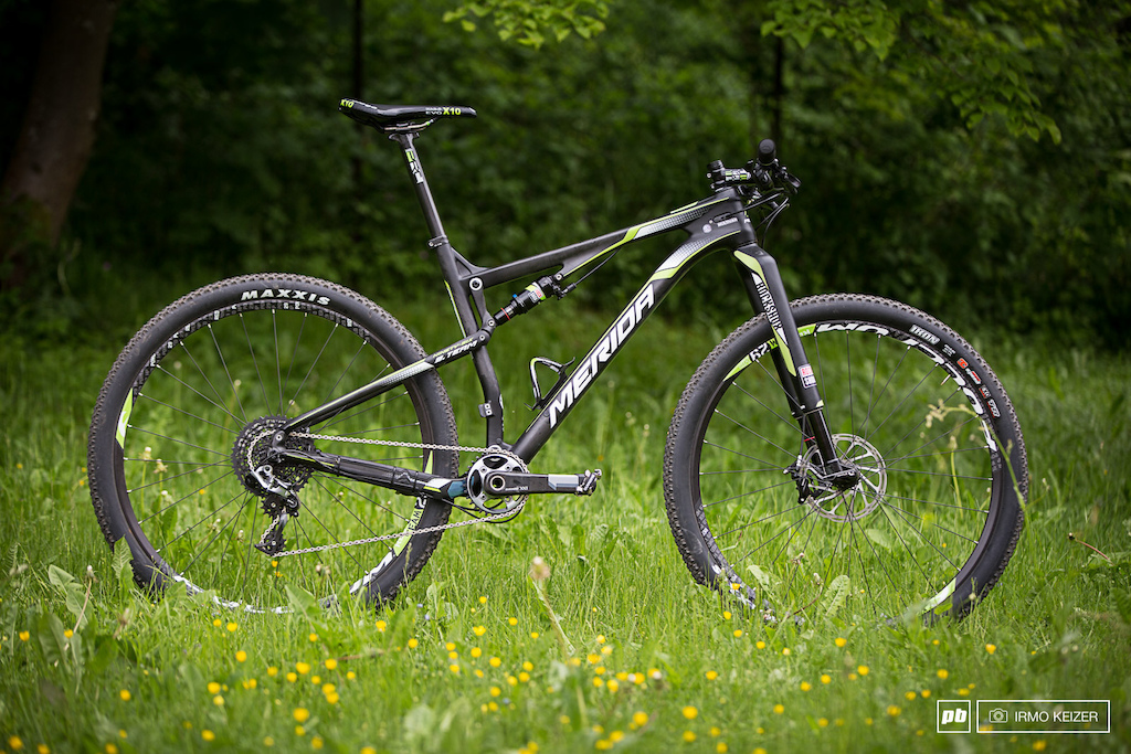 This is it Merida s new Ninety-Six 9 Team. A high-end racer aimed at aggressive XC. Available in 27.5 as well as 29 .