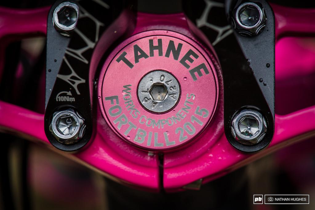 Tahnee's Copparide Charity bike giveaway