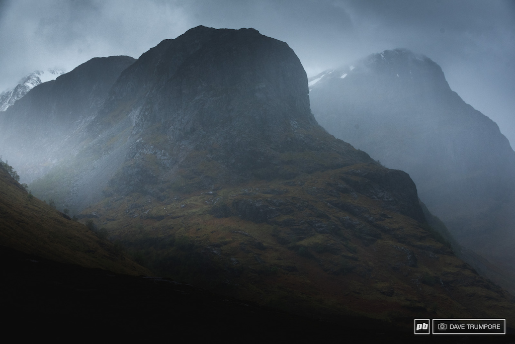 moody weather seems to be the theme of the week here in Scotland