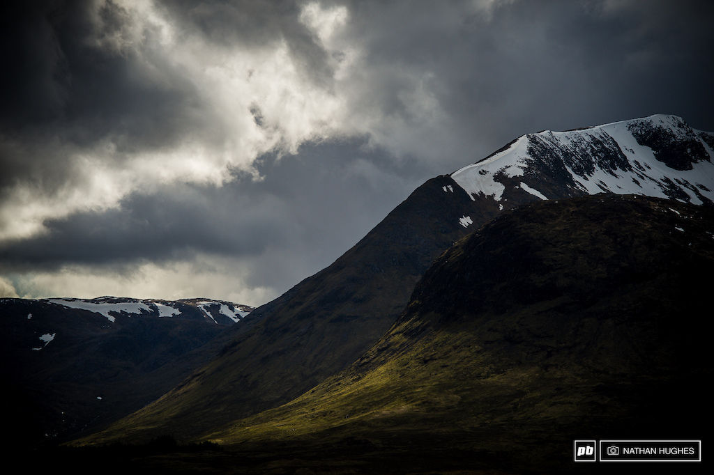 A lot of darkness and a little light current theme of the highlands.