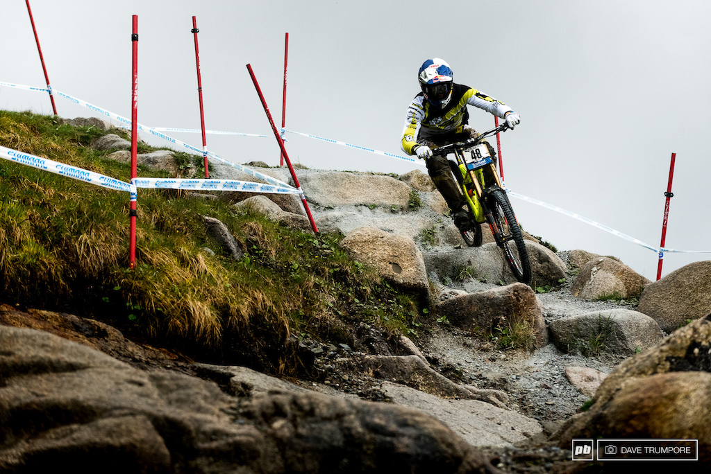 Gee Atherton wants nothing more than to win in front of friends and family here in Fort William.