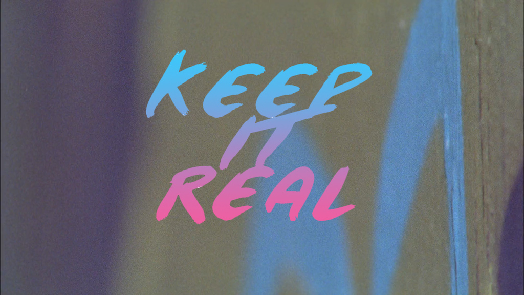 Keep it Real Movie Banner