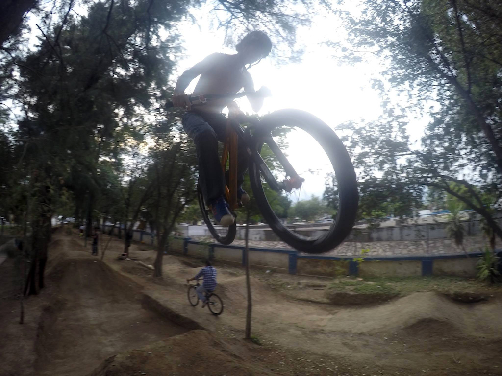 Me jumping here: https://www.facebook.com/Rampas.Pumptracks.Parques.Jardines?fref=ts