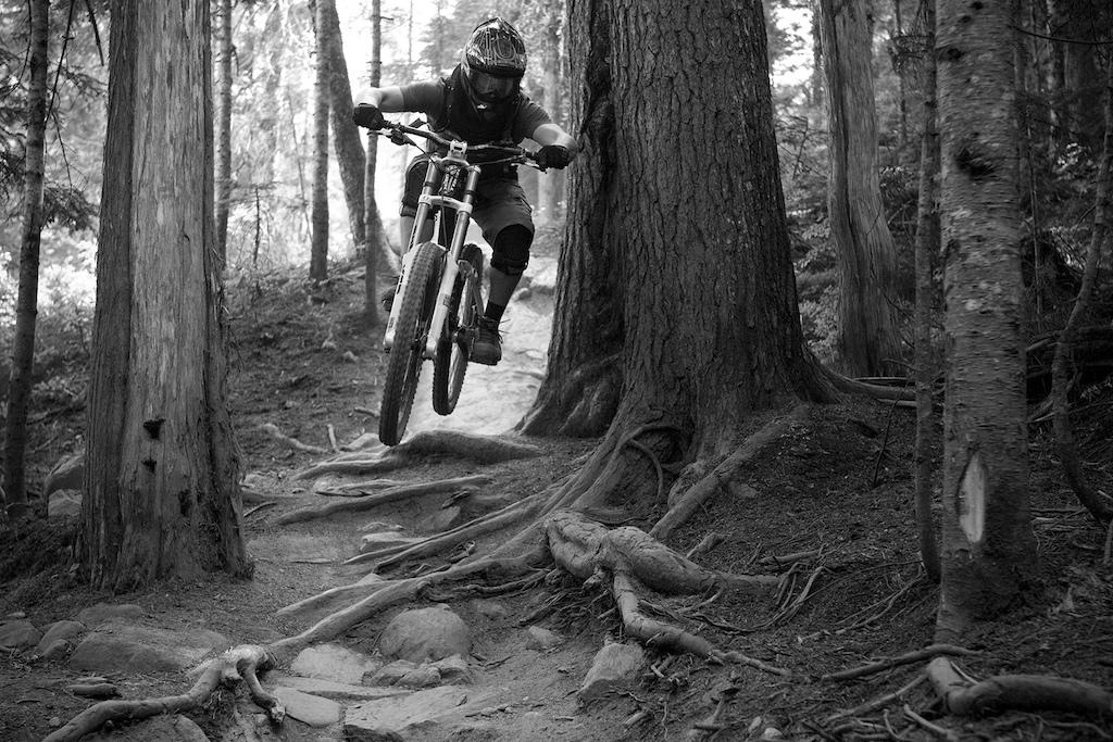 SGC campers at Whistler Mountain Bike Park