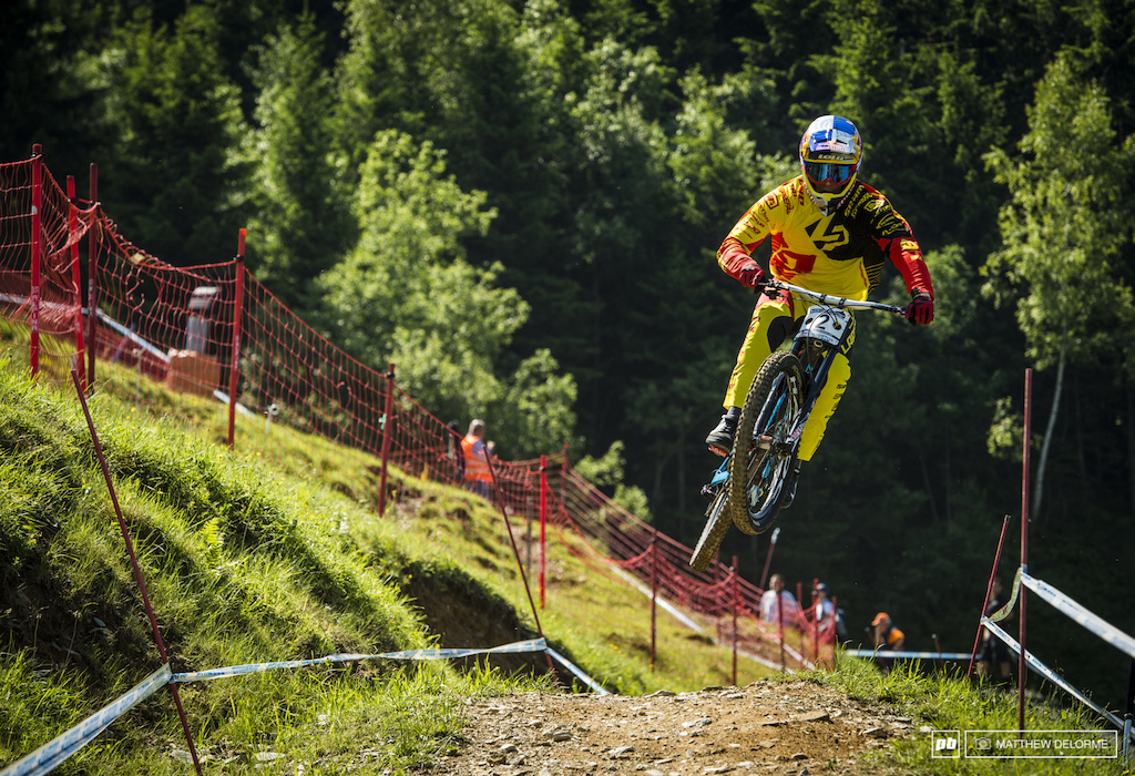 Loic Bruni has is on the hunt for his first win. He s come close here before could this weekend be it