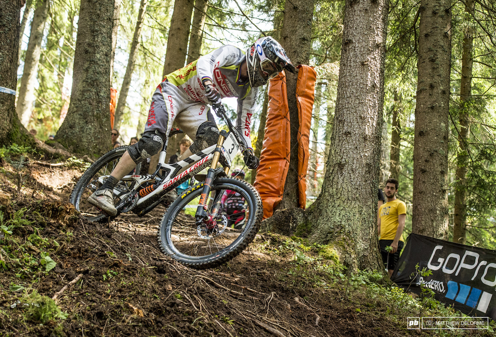 Can Greg Minnaar pull off another win here in Leogang
