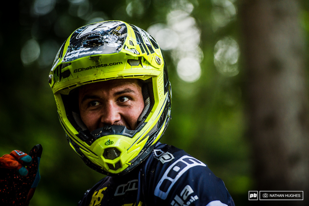 Great to see Lorenzo Suding back in the woods with a helmet on after his car accident last year and an injury before Lourdes. He s now back on the gas and managing his own team HS Racing.