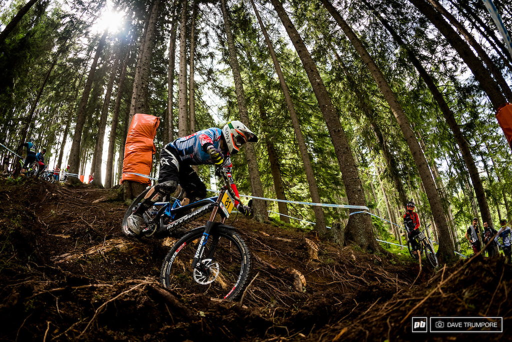 Markus Pekoll is as close to a local in Leogang as it gets some of the loudest cheers no matter where he finishes.