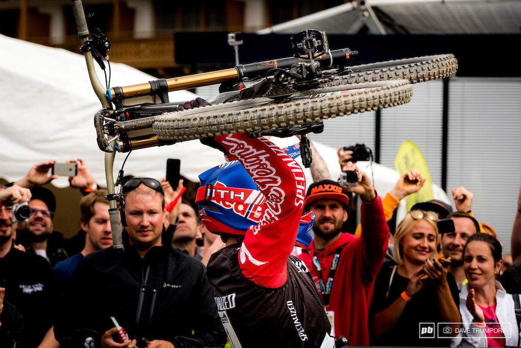 What a day for Aaron Gwin and Team Specialized