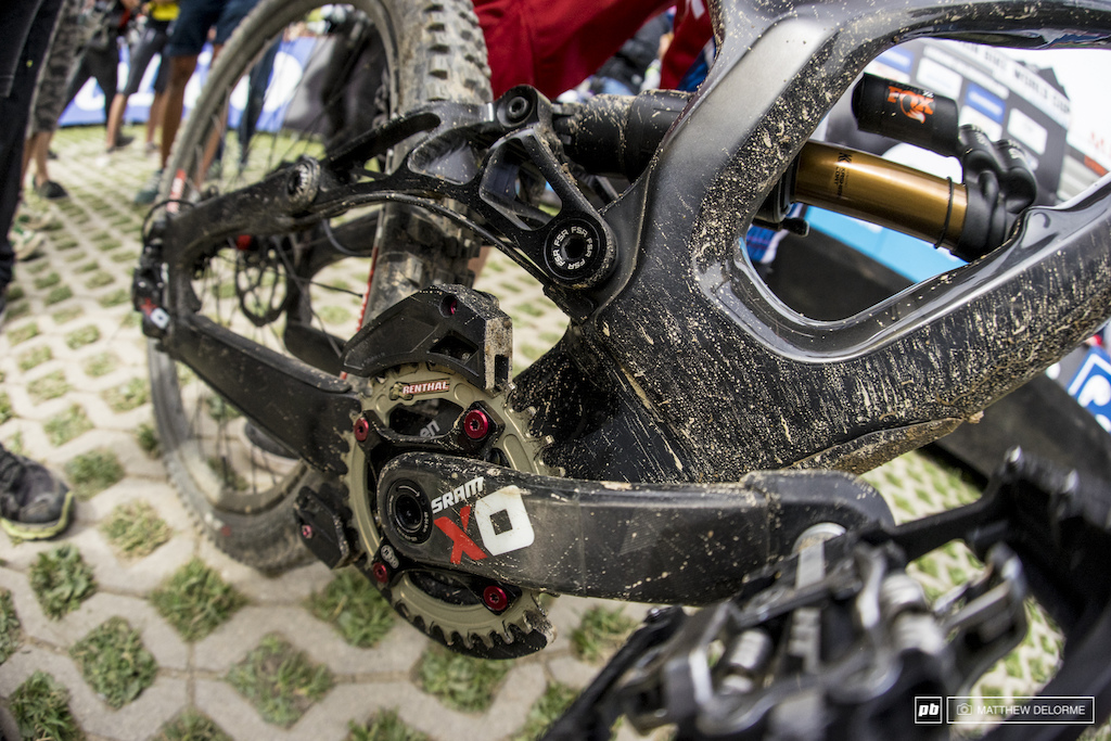 Is running chain less becoming a trend in World Cup racing