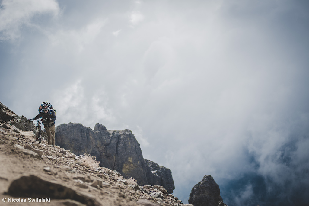 Image for the article - Iztaccíhuatl: Riding down a volcano