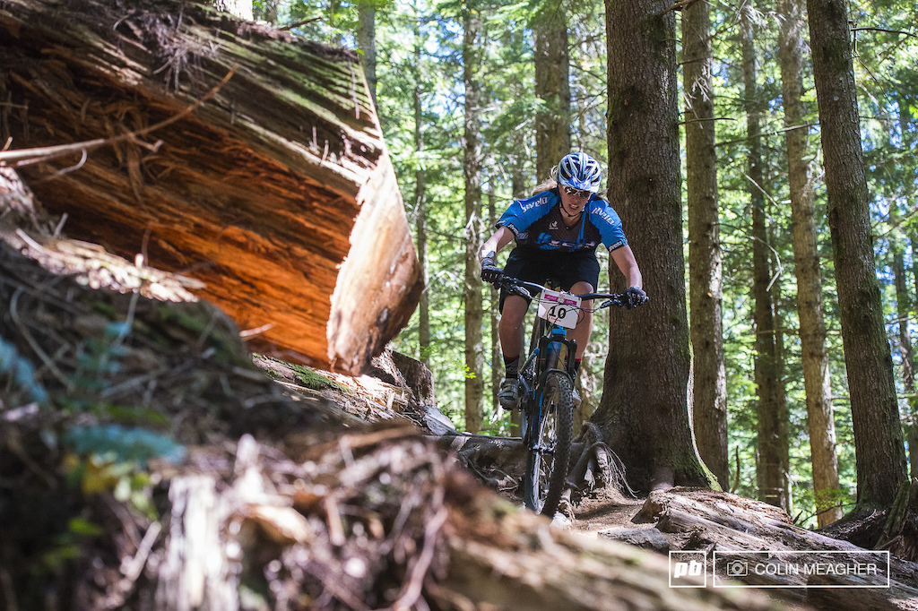 It s been ten long years since Leanna Gerrard raced the NORBA circuit as a pro DH racer but she s still got the bug and laid down some solid times despite a mechanical.