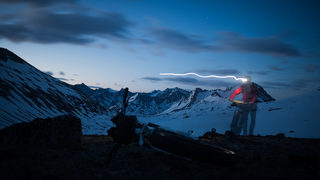 Ride at Night - An Idiot's Guide to Bikepacking on Snow