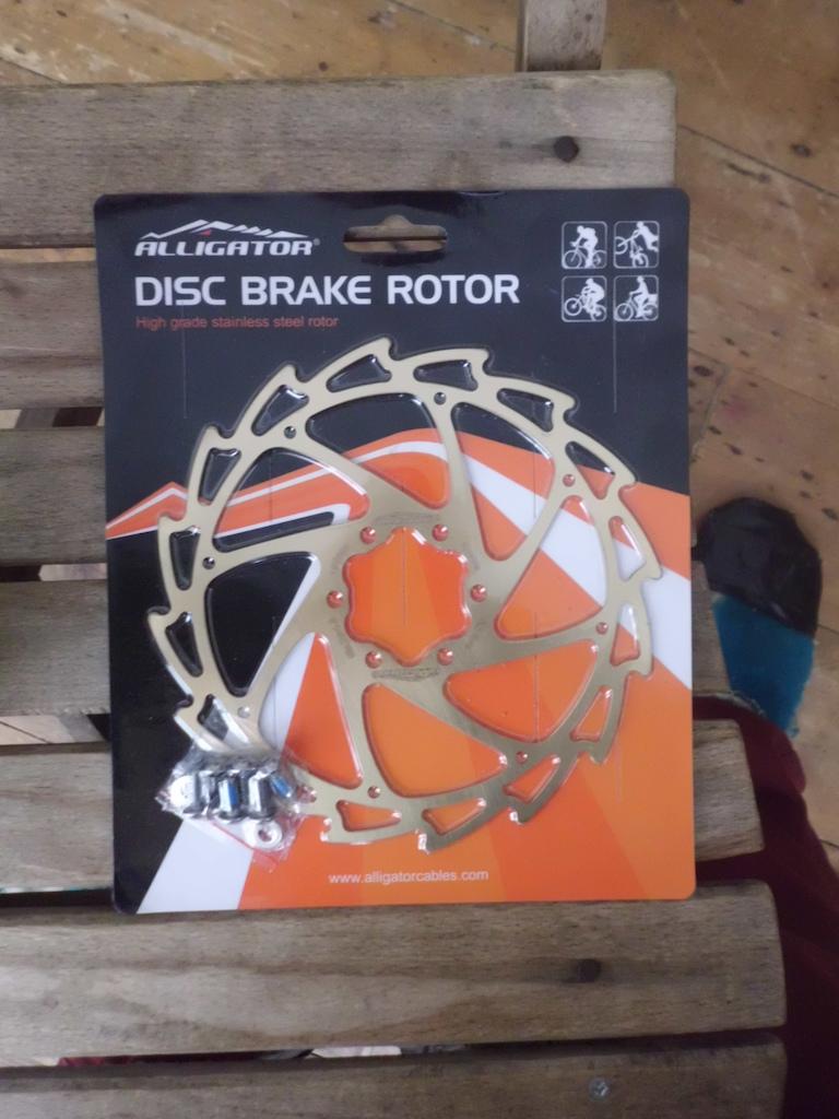 2015 Alligator 160mm Gold Rotor
