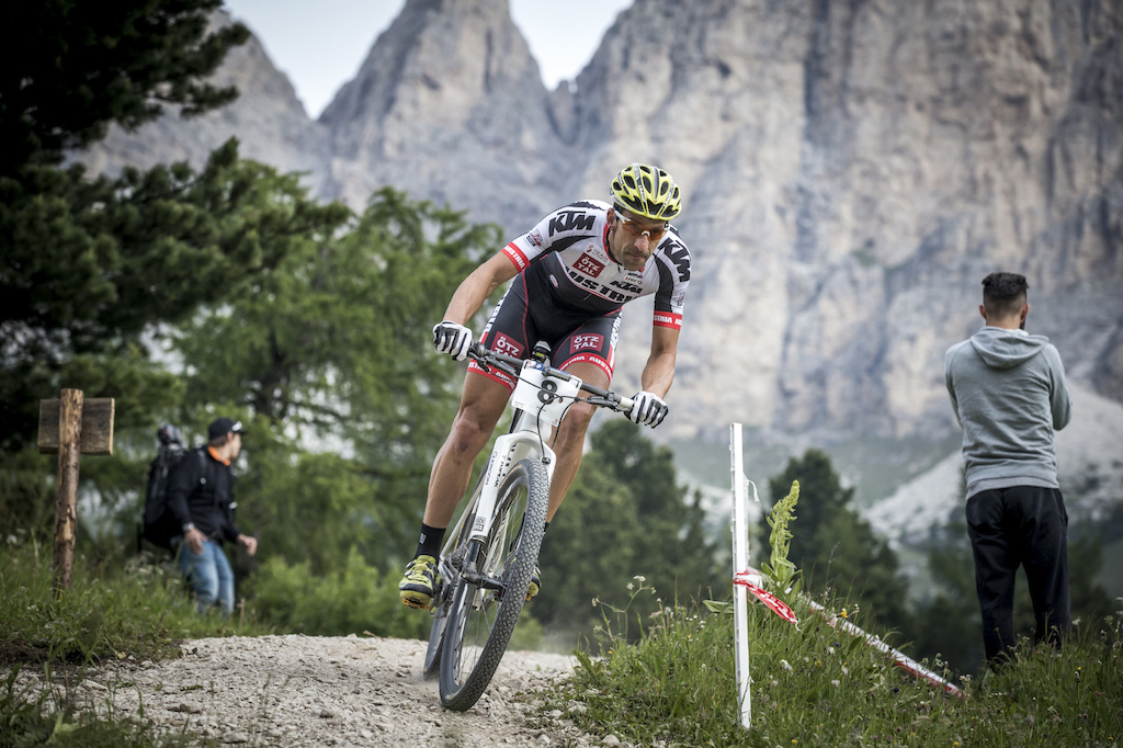 The dolomites for sure are one of the most scenic mountains in the world. To win in an area like this is definitely epic.