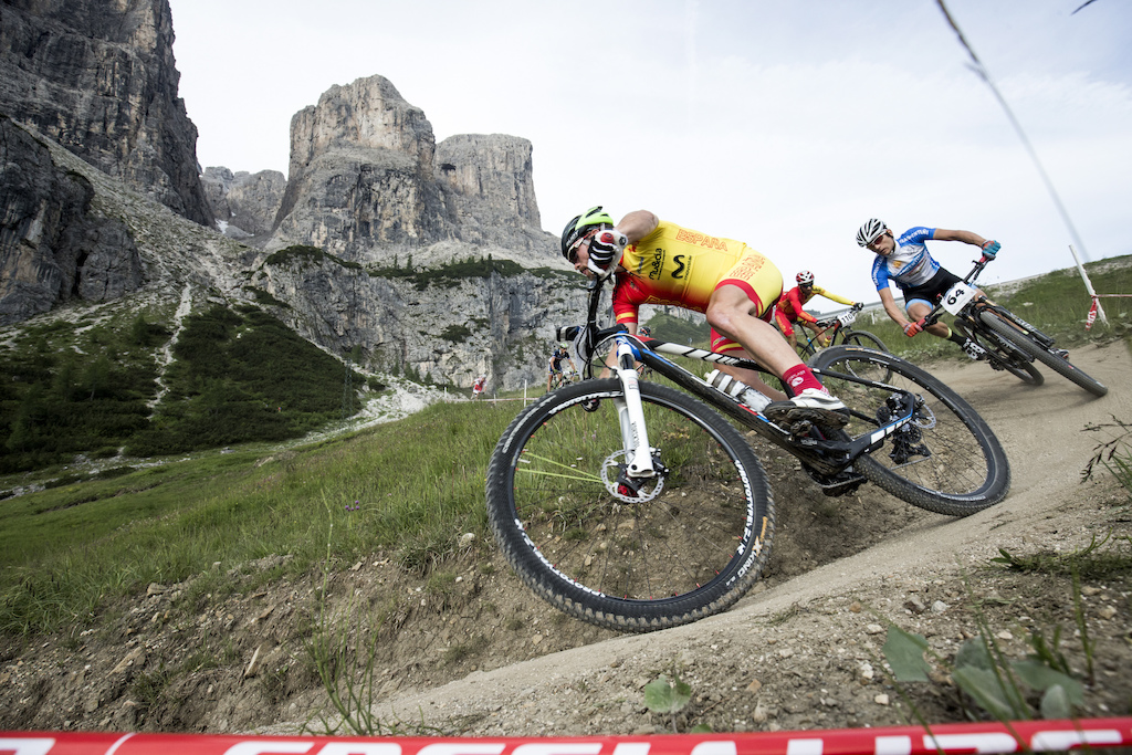 Singletrack fun included The course along the Sella Ronda serves tons of sweet trails.