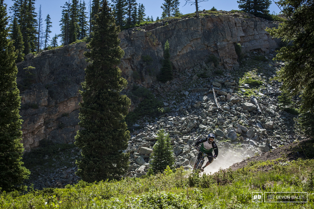 Plenty of rock and dust to be found on Snowmass Mountain.