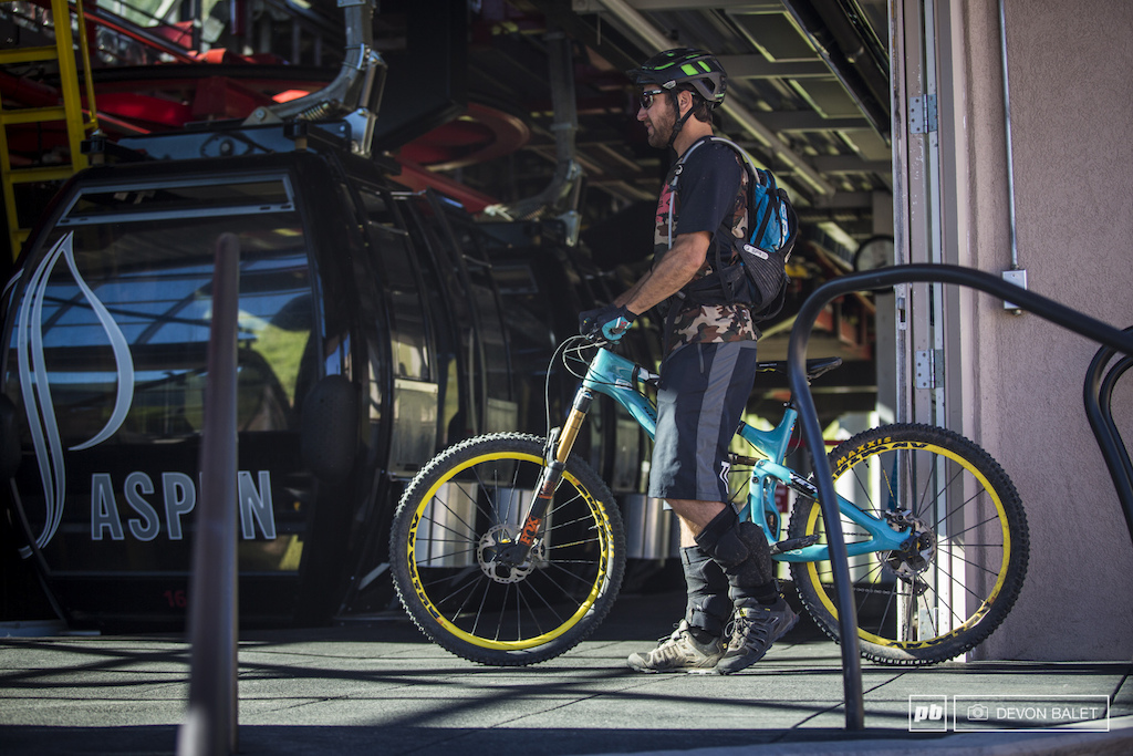 It s true he does ride Race organizer Brandon Ontiveros is typically the first down each course making sure everything is good to go for racing.