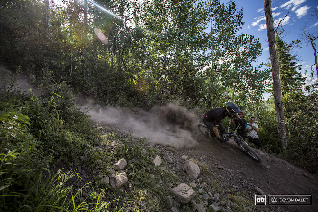 Classic Hell s Kitchen scene on Bonsai DH high speeds and tons of dust.