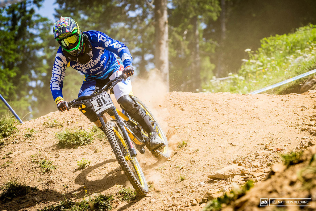 Sam Hill wasn t on a barn burner but he made the cut and he was still running all the inside lines. It s just good to see him back at the races.