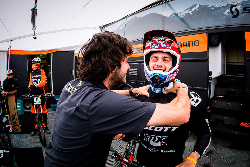 A rider s relationship with their mechanic is