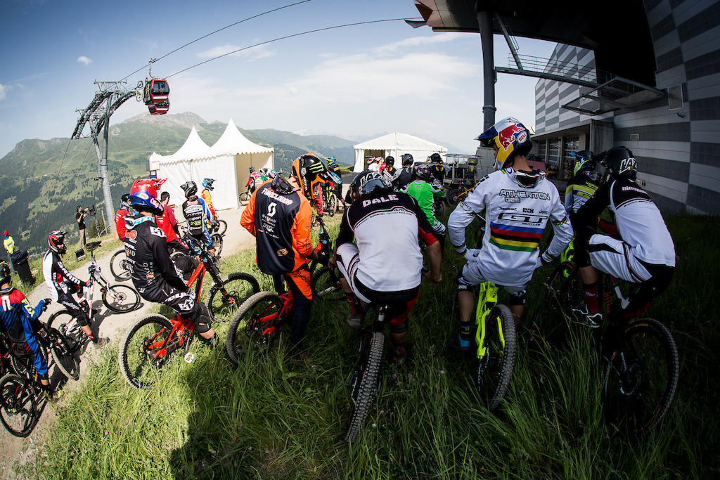 The company you keep and the sharp end of World Cup racing talent.