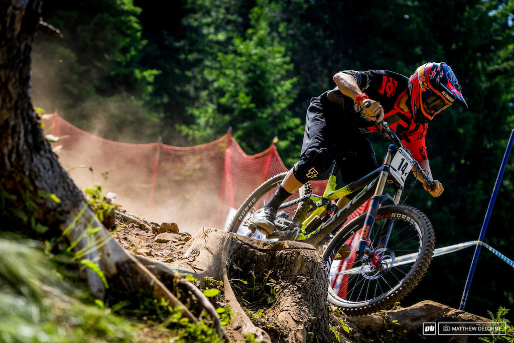 Sam Blenkinsop has looked strong on this course all through practice he qualified ninth today.