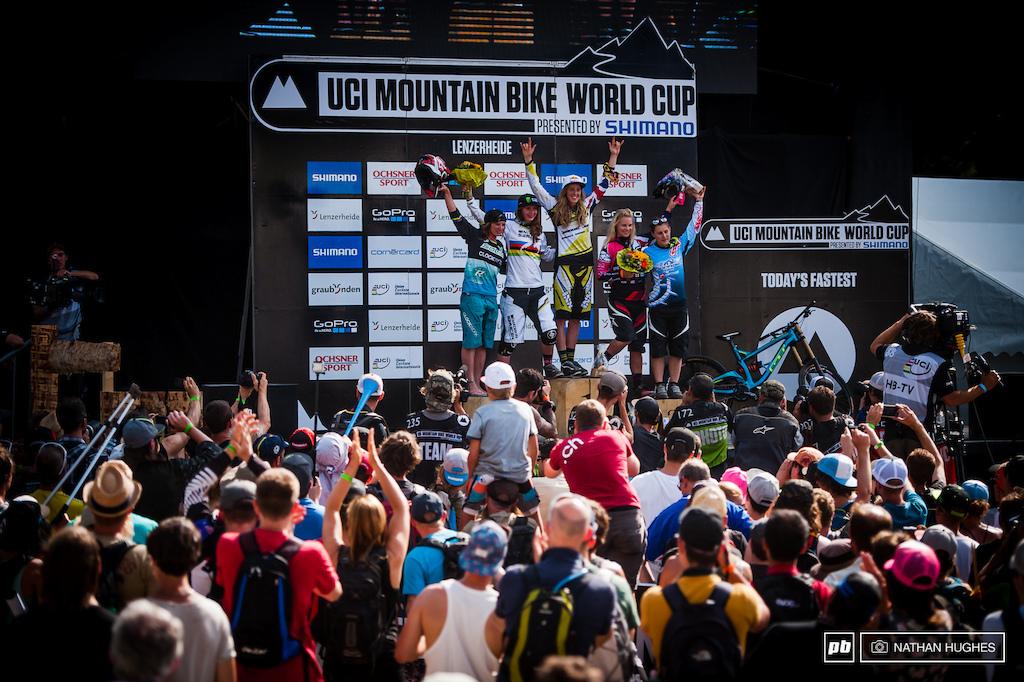 Women s podium