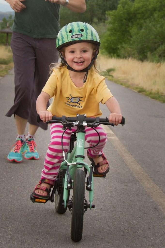 The Joy of Riding a Bike.