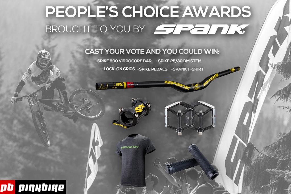 Crankworx - Spank People s Choice Awards 2015