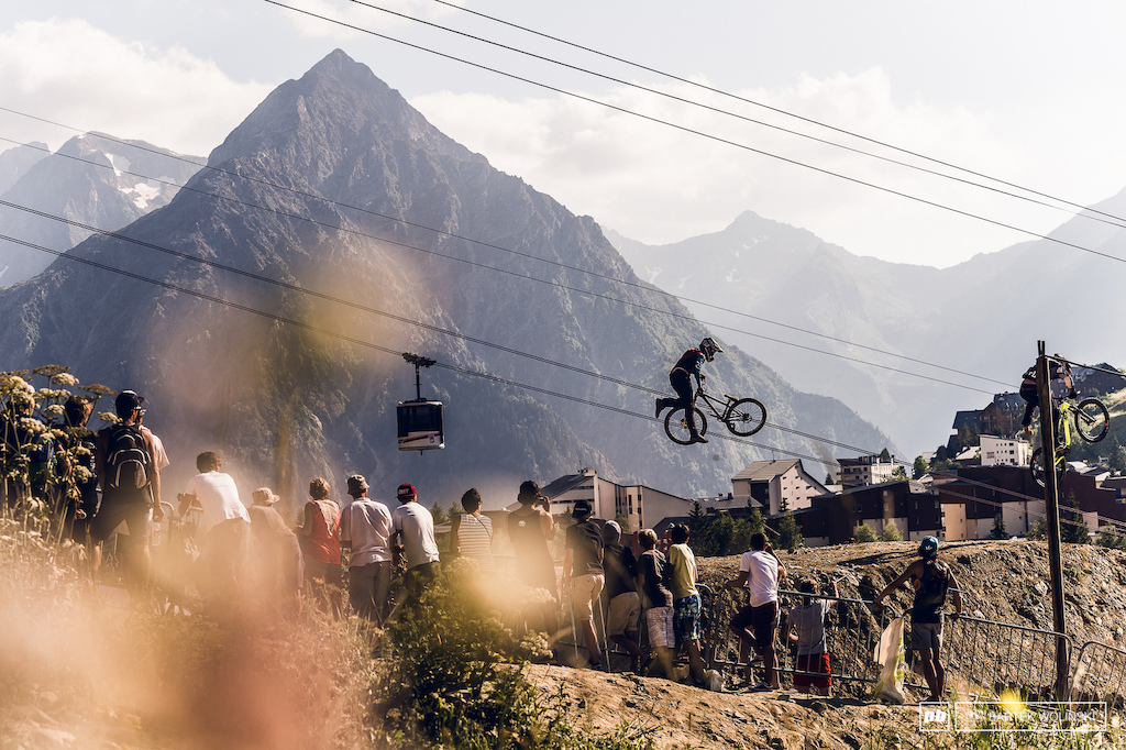 Scenery of Crankworx L2A is just mindblowing even when it comes to speed and style competition