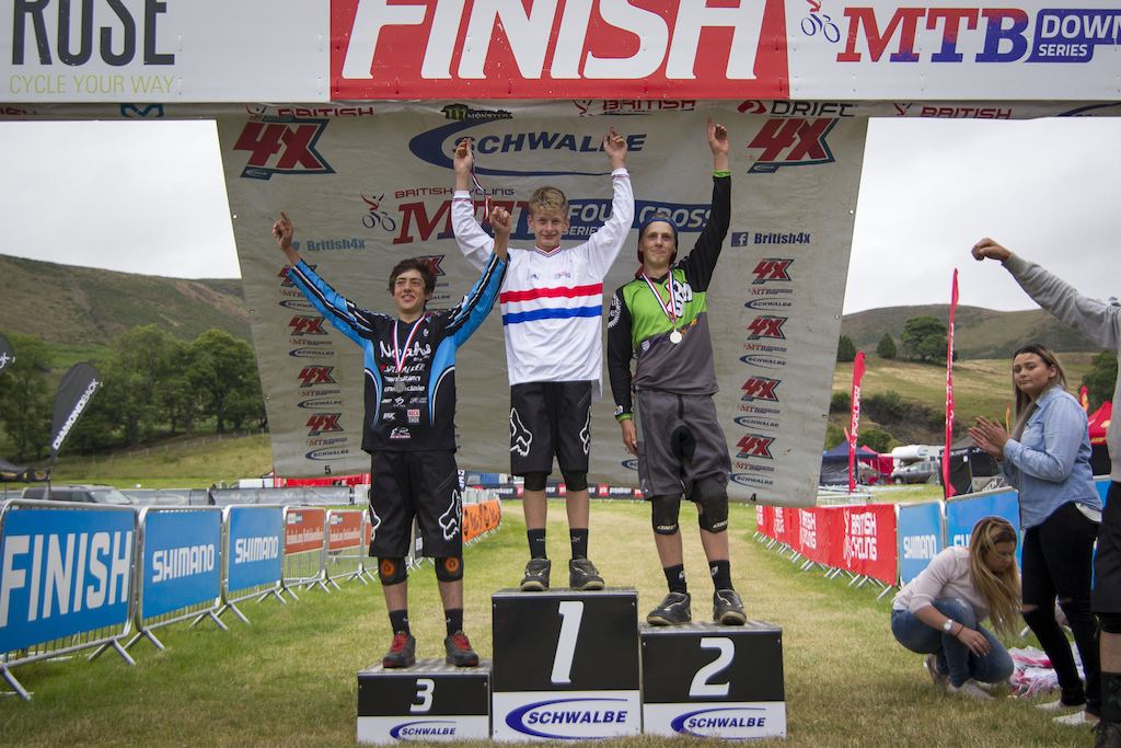 during The Schwalbe British 4X National Championship at Moelfre Hall Moelfre United Kingdom. 11July 2015 Photo Charles Robertson