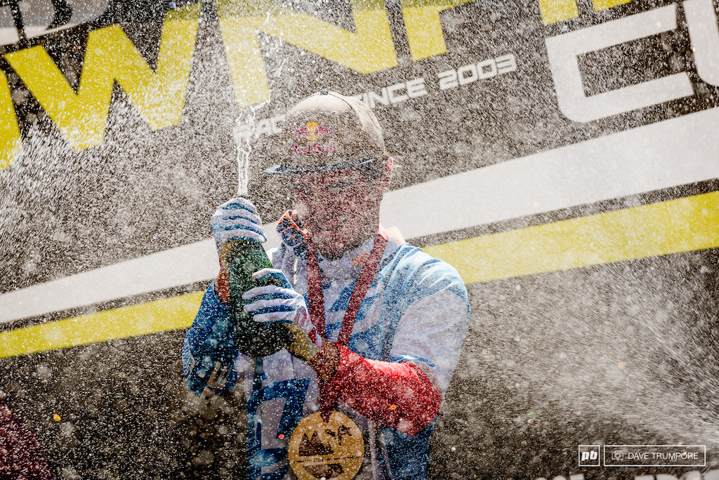 With scorching temps all week what better way to cool down than with an ice cold shower of champagne