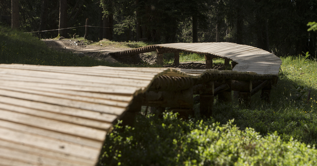 The Never end Trail at Flims-Laax built by Velosolutions and Claudio Caluori.