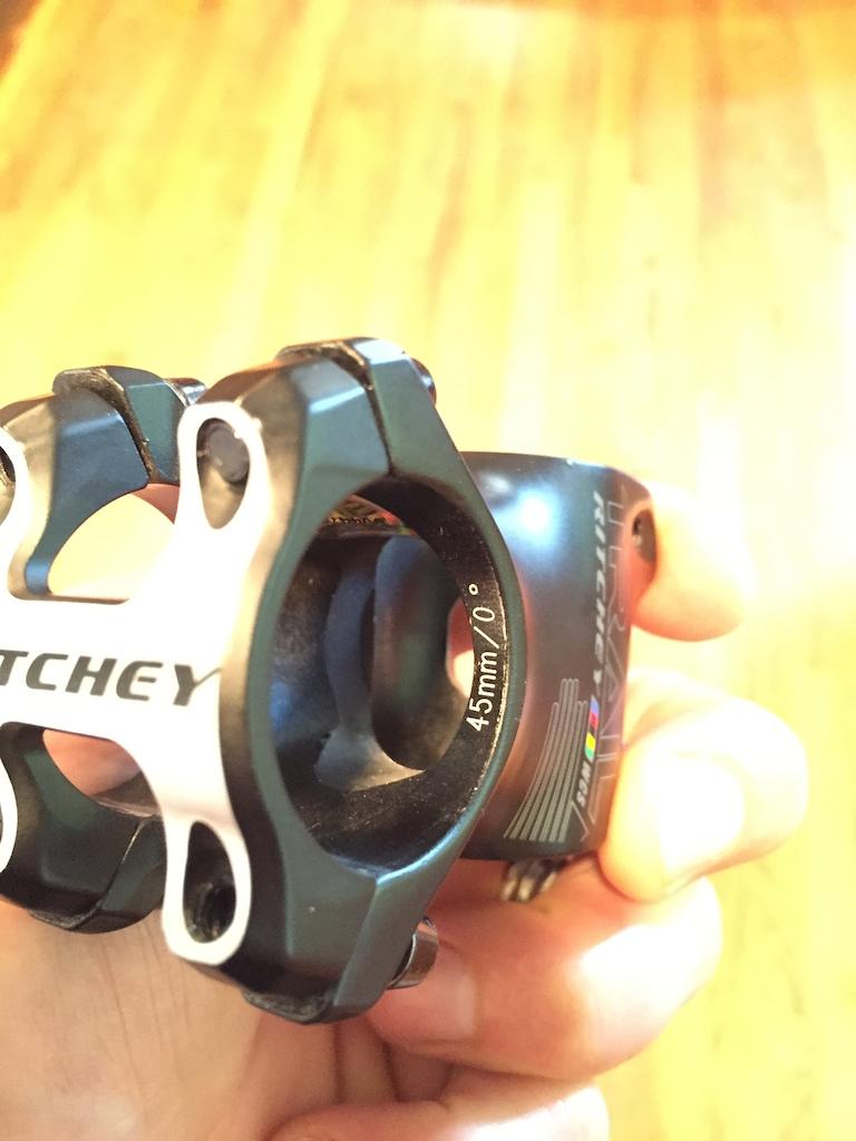2015 RaceFace Six C Carbon Bar/Ritchey Stem Combo 45mm