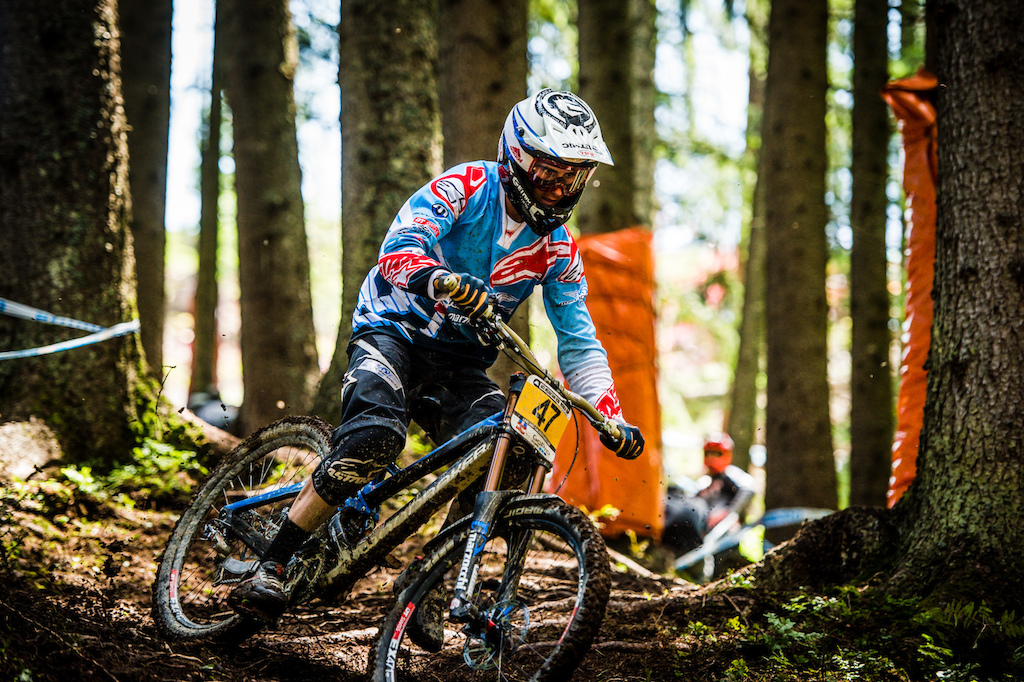 The sketchy woods ruined Innes chances of a top result in Austria but he was still the talk of the town looking wild in plenty of sections.