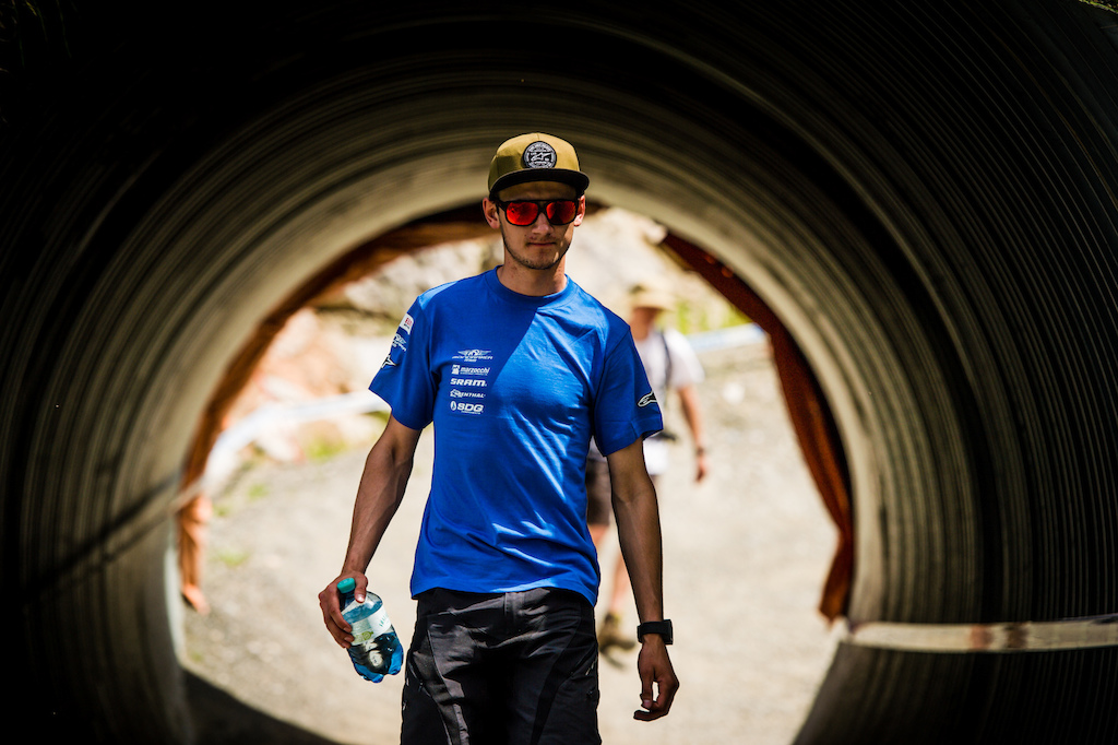 Innes will be out with a shoulder injury following Lenzerheide but see light at the end of the tunnel.