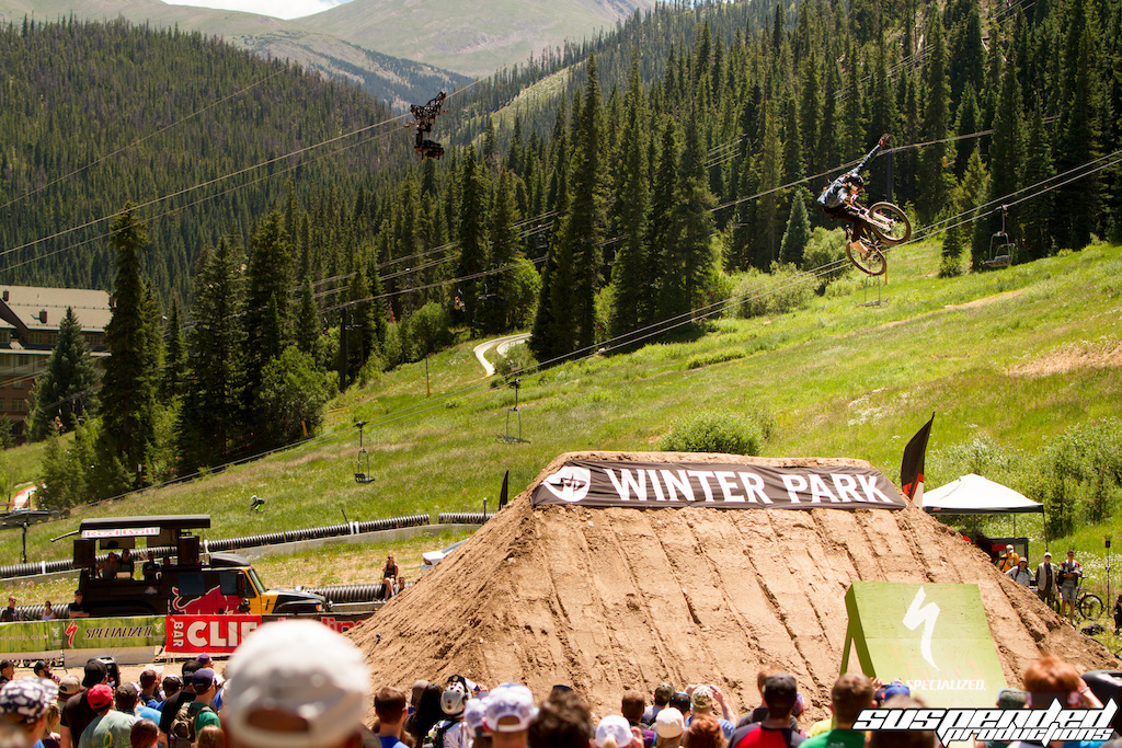 Jakub Stomping the 360 Tuck no to land himself a 3rd place here in Colorado.