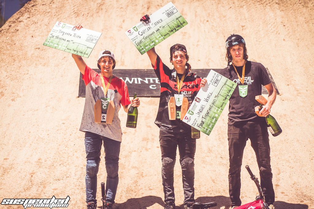 Colorado Freeride Fest Podium