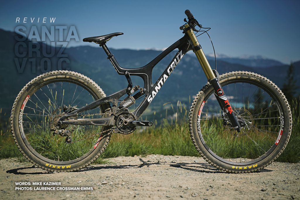 Santa Cruz V10 C review test