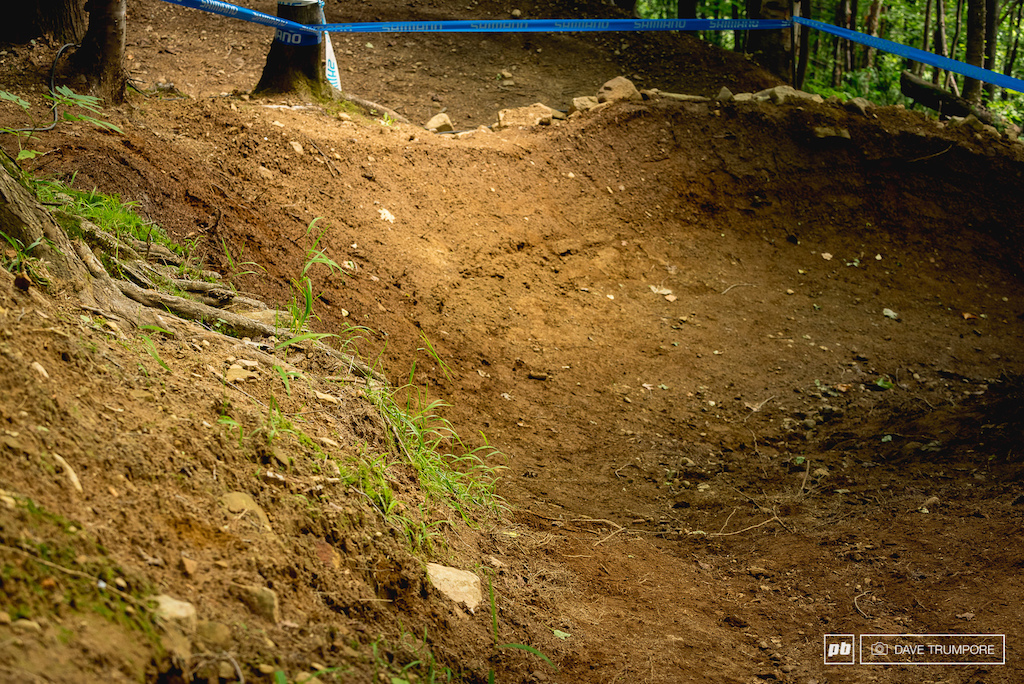 Fresh corners and off camber lines on the setup will keep riders on their toes in the woods
