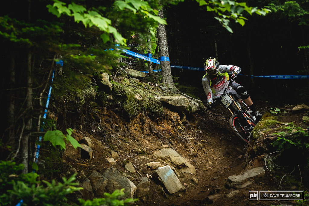 Greg Minnaar took it conservative after the downpour and slotted into the top 20 with ease.
