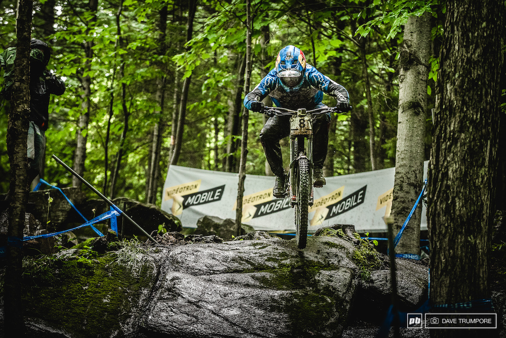 Marcelo Gutierrez is showing the same pace that landed him on the podium in Fort WIlliam and after a 3rd in qualifying here in Mont Sainte Anne we fully expect to see him on one of the top steps when all is said and done tomorrow.